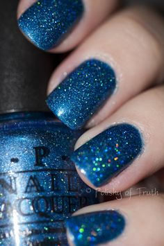 OPI The Flowers Are Blue-ming