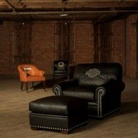 harley davidson living room | Harley Davidson Furniture Decor 200x200 How to Make Harley Davidson ...