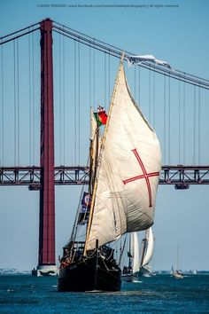Book flights to Lisbon with KLM and enjoy Portuguese pastéis, golden beaches and passionate fado music. Tall Ships Race, Sail Away, Sailboat Yacht, Water Crafts, Belle Photo, Beautiful World, Sailing Ships, Around The Worlds, Europe