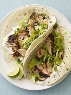 Blackened Salmon Soft Tacos (Heart-Healthy)