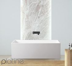 The Maurepas connects you to a new experience and allows you to enjoy an invigorating world of freedom. This stunning bath will provide a grand centrepiece for your new bathing sanctuary. Dimensions: 1700 x 725 x 550mm Weight: 232kg Luxury baths from Platine epitomise stunning European design. Their high quality sleek forms and luxury materials provide a unique and magnificent centrepiece for your personal bathing sanctuary, a place in which to rediscover your inner self.