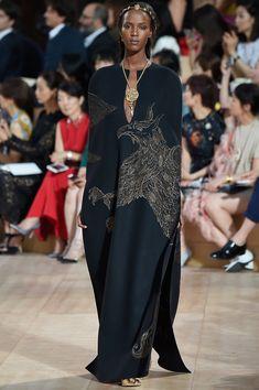 Valentino - Fall15Couture - Model Leila Nda