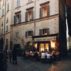 Osteria Del Gallo in Rome, Italy / photo by Teodorik Mensl (click to follow me on Instagram!)