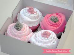 Heather Renee Celebrations: Onesie Cupcakes {Tutorial}