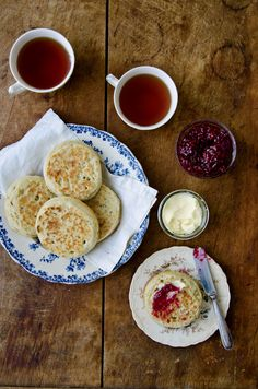 Crumpets are as easy to make as pancakes!
