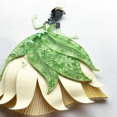Tiana paper quill