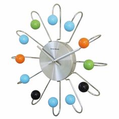 Fun clock--makes me think of my little pal Calvin :) Maybe something to do with an Space party he had...