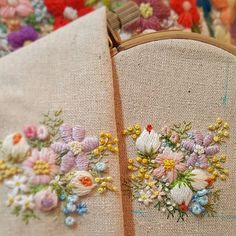 프랑스자수 꽃자수..이걸로 티매트#프랑스자수 #꽃자수 #프랑스자수소품 #손자수 #자수티매트#자수티코스터 #핸드메이드 #봄자수#embroidery #needlework #stiching #handembroidery #broderies #ricamo #flower #flower#창잔도안#창작자수#불펌앙대요