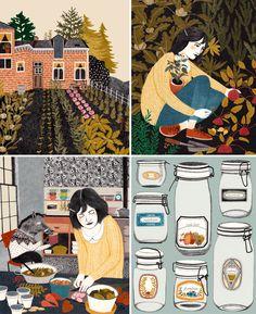 Illustrations by Lieke Van Der Vorst