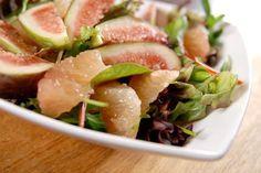 Салат с инжиром от высоцкой