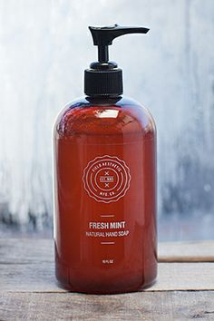 """"""" My dry hands feel soft after I wash them, and it makes my bathroom smell like a happy summer day in the country after a fresh rainfall – never mind that my bathroom window faces a brick wall. I also like the way it looks, and want to gift this magical soap to everyone.""""  Field Aesthetic Liquid Hand Soap, $20, available at Field Aesthetic."""
