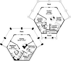 1000 images about hexagon houses on pinterest hexagons for Honeycomb house floor plan