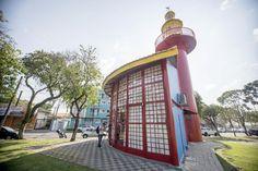Farol do Saber Tom Jobim, no bairro Santa Quitéria. Foto: Gabriel Rosa/SMCS