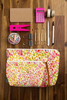 Jacqueline Maldonado Lighthearted Pouch | DENY Designs Home Accessories