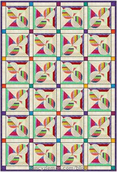 Quilt Extravaganza:Block of the Month 9   Craftsy Free PDF