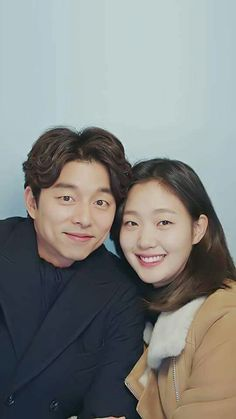 At first i didnt want to watch Goblin. Then this picture came up spreading in instagram. It was so charming and attractive photograph that i wanted to download the drama as soon as possible.. i love them!