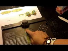 ▶ 3D Bow Tutorial - Envelope Punch Board - YouTube