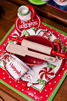 santa's kitchen christmas baking party