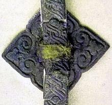 Wikinger-Taschenbeschlag aus Birka