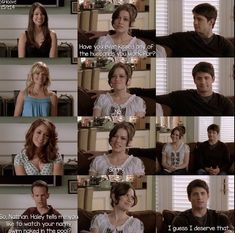 Naley Season 5.. Hahaha i hated nanny Carrie! But this parts funny for after she's gone!