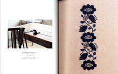 Flower pattern from Wool Stitch by Yumiko Higuchi