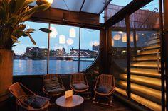 Odessa - boat restaurant, Amsterdam