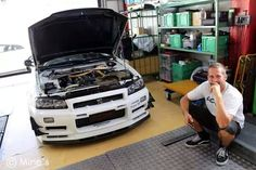 This man right here is a Nissan king and is the biggest reason I love Nissan GTRs and R34's RIP Paul you are missed.