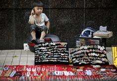 love this kid  Eugene Hoshiko/AP