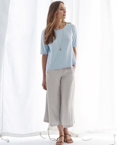 Poetry Cropped Trousers