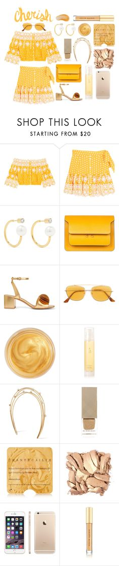 """""""And in that moment I decided that I didn't want to be in love with you anymore"""" by theodor44444 ❤ liked on Polyvore featuring Miguelina, Sophie Bille Brahe, Marni, Mercedes Castillo, RetroSuperFuture, Oribe, Aromatherapy Associates, Cornelia Webb, Burberry and Chantecaille"""