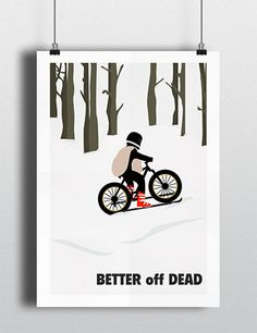 Better off Dead movie poster  Paperboy 16.5 x by MeetMeInShermer, $20.40 OFFICE!!!!
