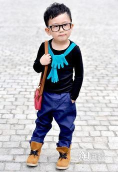 Tiny hipster with big attitude!