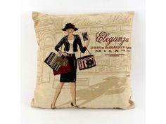 Milan Shopping Vintage Retro Tapestry Cushion Covers x Retro Flip Clock, Retro Alarm Clock, Milan Shopping, Shop Signage, Cushion Covers, Thrifting, Retro Vintage, Cushions, Pillows