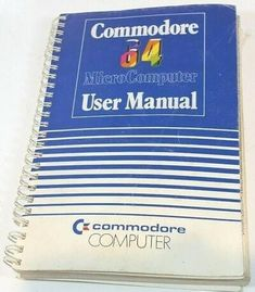 User Manual for the Commodore 64 Computer Love, Home Computer, Creating Games, Good Old Times, Old Computers, Retro Gamer, Old Video, Cool Tech, Books To Buy