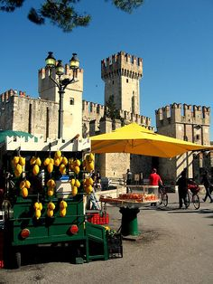 The seller of lemons in Sirmione Italy *Been there, done that!(: