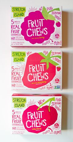 Stretch Island Fruit Chews // love these fun designs! they are super yummy & all natural too! :D