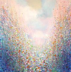 """Saatchi Art Artist Sandy Dooley; Painting, """"Drenched Spring (not for sale)"""" #art"""