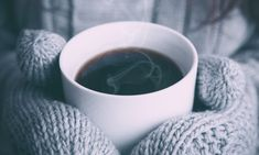 Hygge is where is it as this winter. Our The Art of Hygge is in the New Statement Drinking Black Coffee, Hot Coffee, Coffee Time, Coffee Cups, Coffee Steam, Drink Coffee, Tea Time, Starbucks Coffee, Coffee Barista