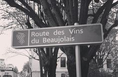 On the road in Beaujolais. #wine