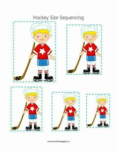 Super cute and fun hockey themed activities! Lesson Plans For Toddlers, Preschool Lesson Plans, Preschool Themes, Preschool Activities, Preschool Classroom, Classroom Ideas, Circle Time Activities, Toddler Activities, Toddler Sports