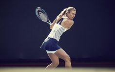 Roland Garros 2015: la robe marinière de Maria Sharapova