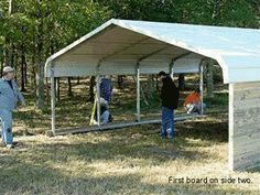 Cheap way to build a barn for a horse