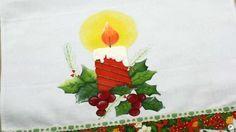 Vela de Natal Parte 1 de 2  Pintura