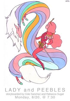 Lady & Peebles (by Rebecca Sugar)