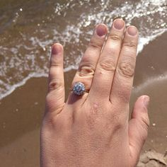 McCZane added a photo of their purchase Seed Pearl Ring, Vintage Items, Vintage Jewelry, Victorian Ring, My Engagement Ring, Ring Crafts, Gold Flats, Three Stone Rings, Garnet Rings