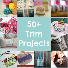 50+ Trim Projects Round Up | The Sewing Loft