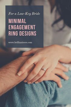 Looking for a simple, minimal ring design? We have a great collection of minimal engagement ring designs you'll definitely want to see. Classic Engagement Rings, Perfect Engagement Ring, Engagement Wedding Ring Sets, Designer Engagement Rings, Wedding Rings, Types Of Rings, Diamond Design, Low Key, Unique Rings