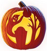 Free Jack-O-Lantern Carving Patterns - CandelaBoo Pumpkin Carving Pattern