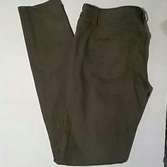 Skinny jeans Olive green stretchy skinny jeans. Merona Jeans Skinny