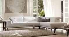 Natuzzi Borghese Sofa Beach Furniture, Home Decor Furniture, Luxury Furniture, Home Furnishings, Italian Furniture, Modern Furniture, Modern Leather Sofa, Leather Furniture, Cuir Center
